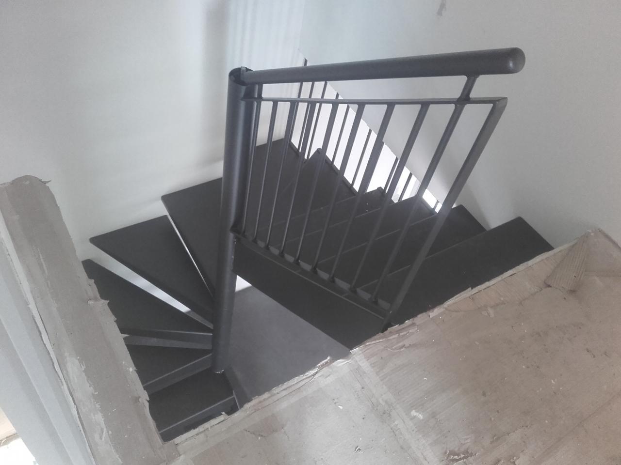 Garde-corps et escalier
