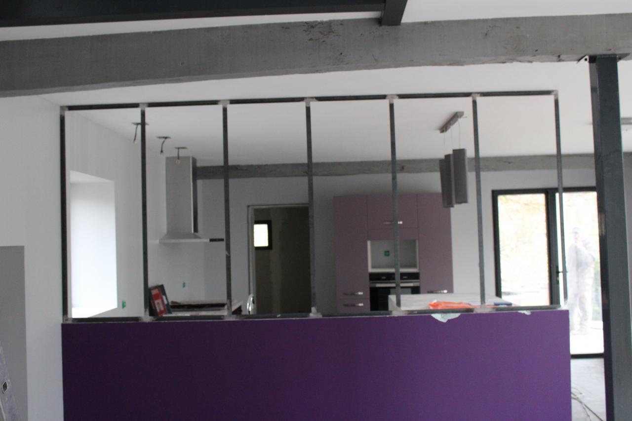cloison vitr e. Black Bedroom Furniture Sets. Home Design Ideas