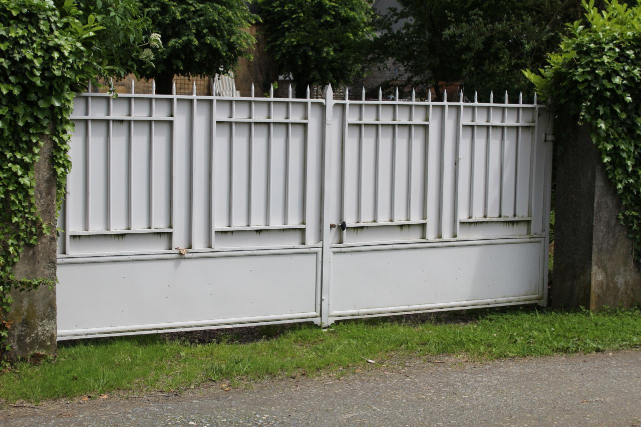 Rénovation portail droit