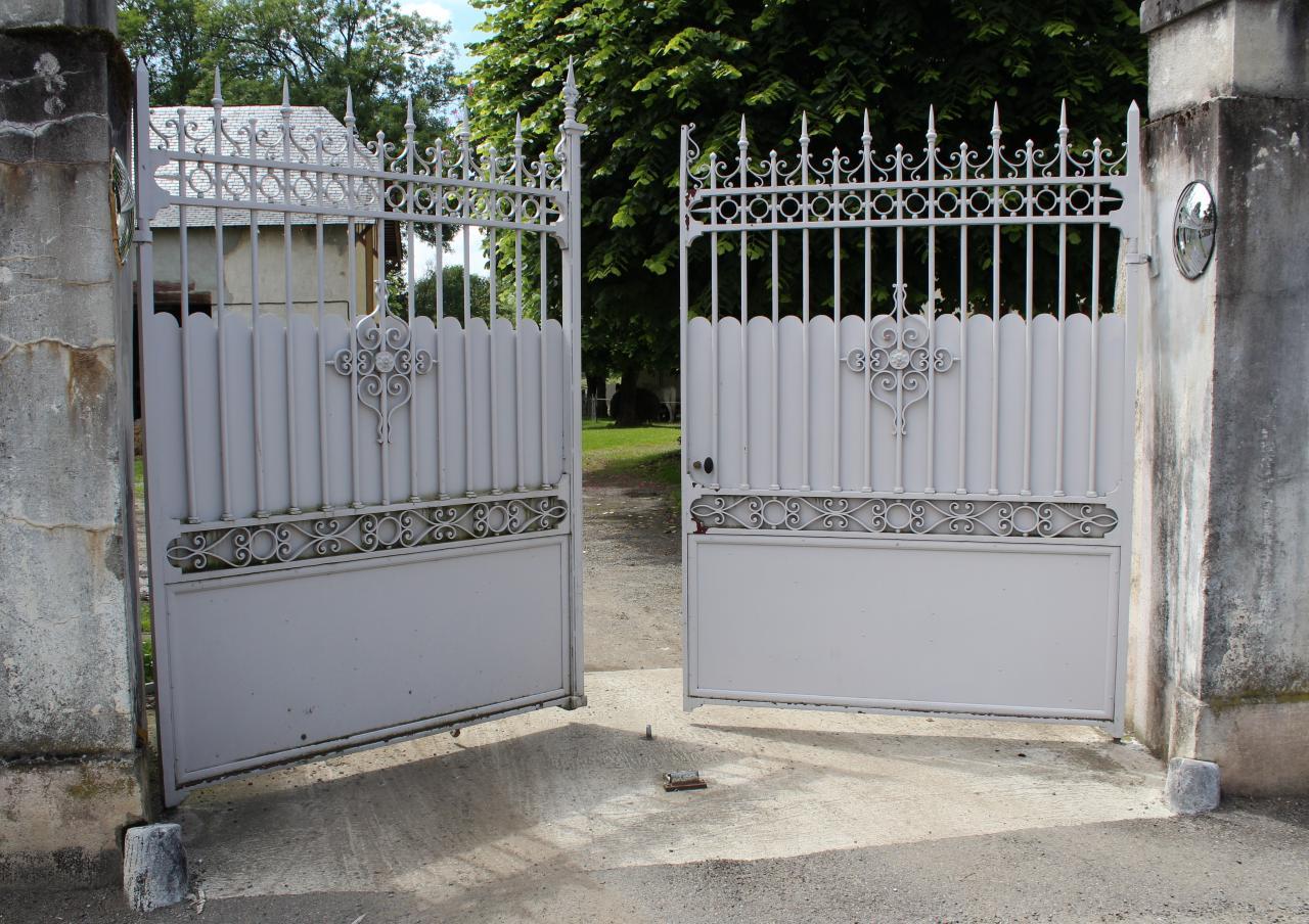 Rénovation portail ancien