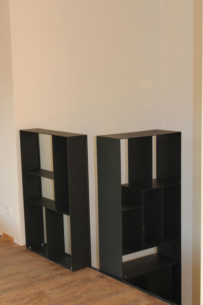 Garde-corps meuble de rangement